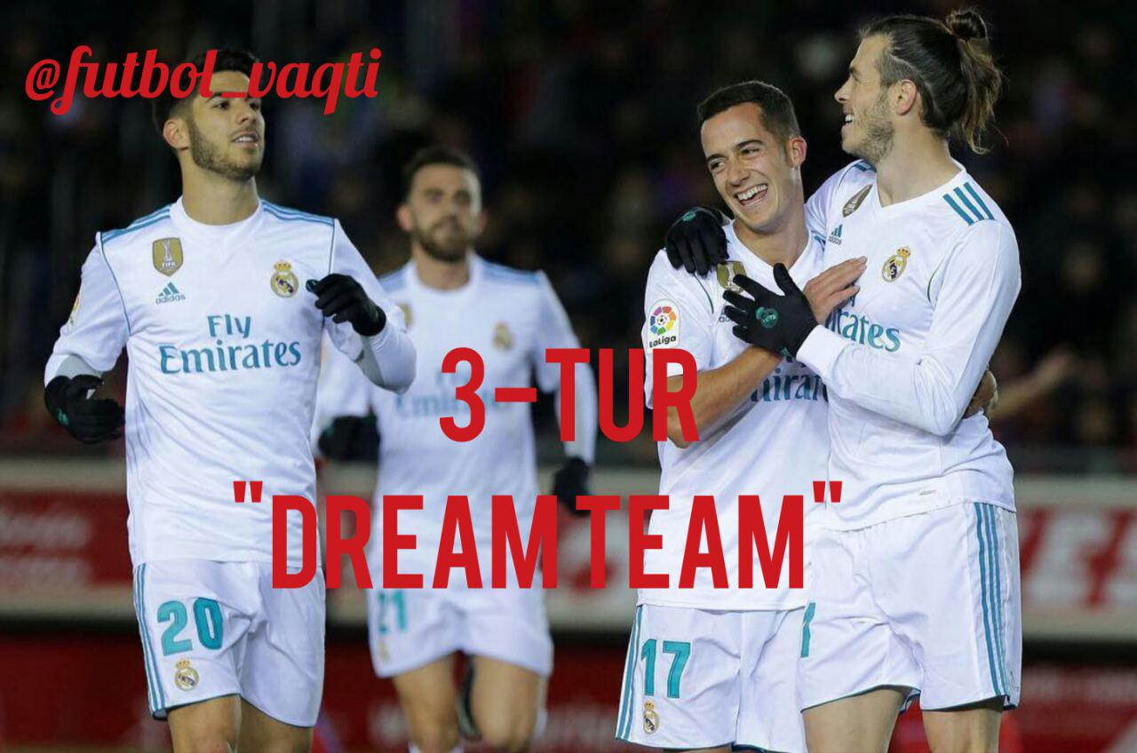 """DREAM TEAM"": 3-Tur, barcha guruhlar!"