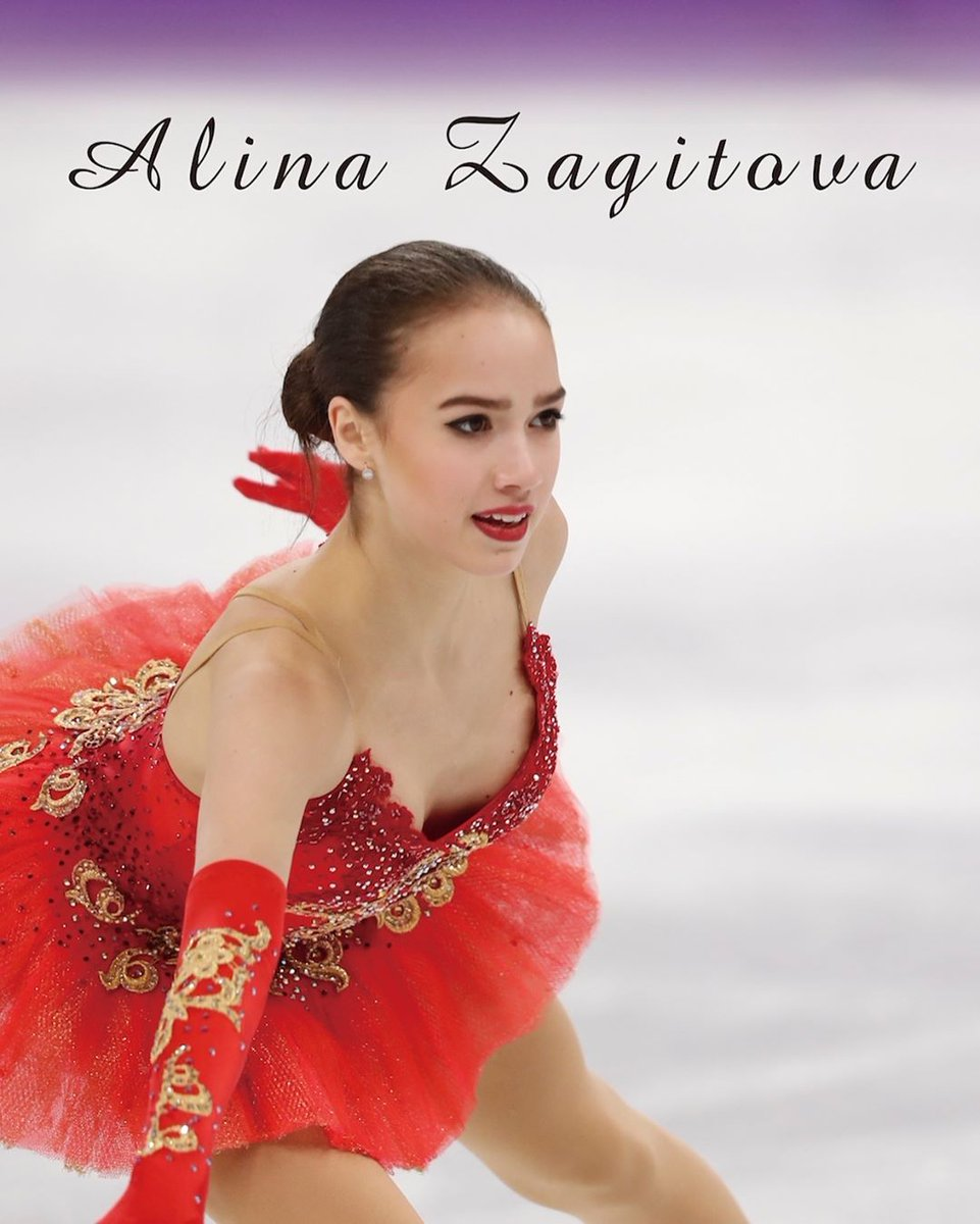 Алина Ильназовна Загитова-2 | Олимпийская чемпионка - Страница 6 QVd7P