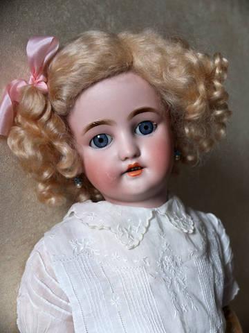 Немецкая антикварная кукла Bergmann Simon&Halbig
