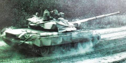 «Объект 478Д» - опытный основной боевой танк 9pF3i