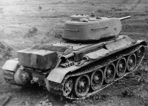 Т-43 - средний танк (1942 г.), опытный AQuYE