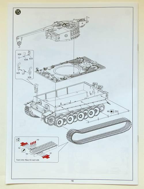BdVmK 1:35 Bergepanzer Tiger I von Rye Field Model RM-5008.