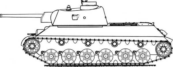Т-34-М (А-43) - модернизированный средний танк Т-34 (1941 г.) LvcXV