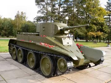 БТ-5 - лёгкий колесно-гусеничный танк P1LCA