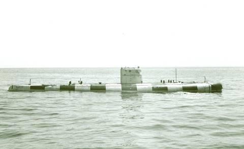 Проект 1906 «Поиск-6» - глубоководный аппарат батискаф (батискаф) W2jNZ
