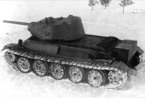 Т-43 - средний танк (1942 г.), опытный ADWR6