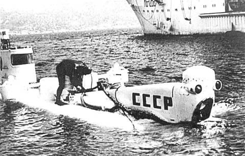 Проект 1825 «Север-2» - глубоководный аппарат CZbPk
