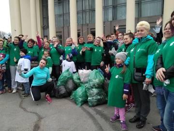 Активисты движения «Петербург – город перемен» участвовали в субботник