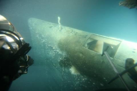 Проект 685 «Плавник» - опытная глубоководная торпедная атомная подводная лодка PmLZa