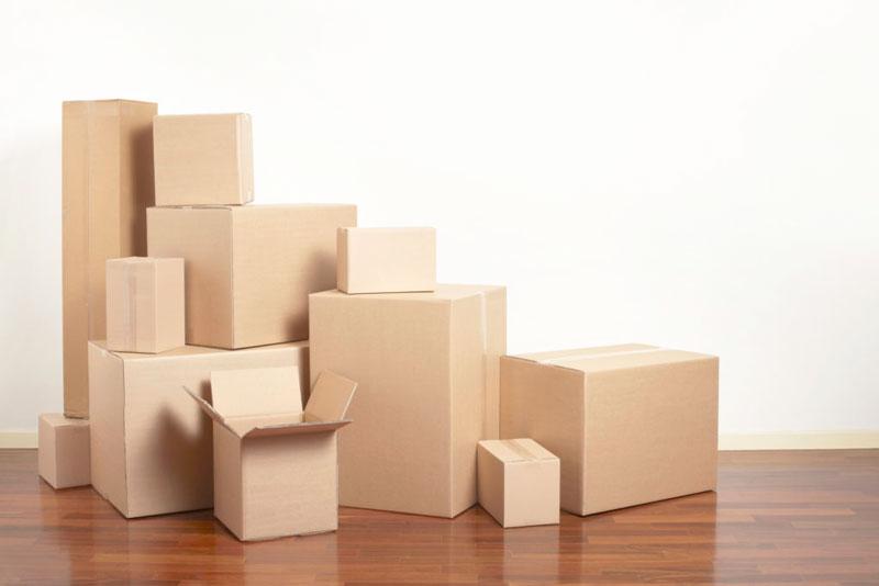 Вес картонных коробок