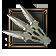 Метательное- Ножи